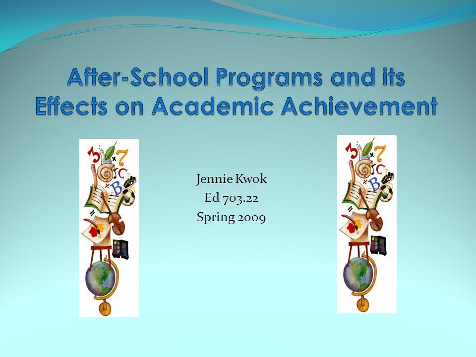 Jennie Kwok Ed 703.22 Spring 2009