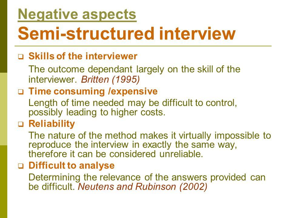 References http://64.233.183.104/search?q=cache:lVeJj2kHjs0J:www.soc iology.org.uk/methfi.pdf+semi+structured+interviews&hl=en&c t=clnk&cd=2&gl=uk accessed 25/10/07 http://www.stroke.org.uk/information/index.html accessed 25/10/07 www.sociology.org.uk/methfi.pdf accessed 19/10/07 www.usc.edu/hsc/ebnet/res/Guidelines.pdf accessed 19/10/07 http://www.bmj.com/archive/7109/7109ed2.htm accessed 19/10/07 http://www.podreg.health.nsw.gov.au/hprb/pod_web/pdf/copc dec2005.pdf accessed 5/11/2007