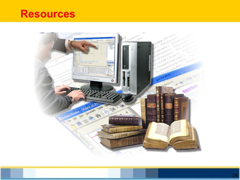 28 Resources