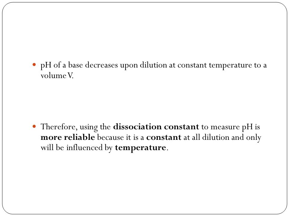 When small amount of base is added to buffer : OH - + CH 3 COOH CH 3 COO - + H 2 O (added) The extra OH - ions added removed by reacting with the large concentration of CH 3 COOH.