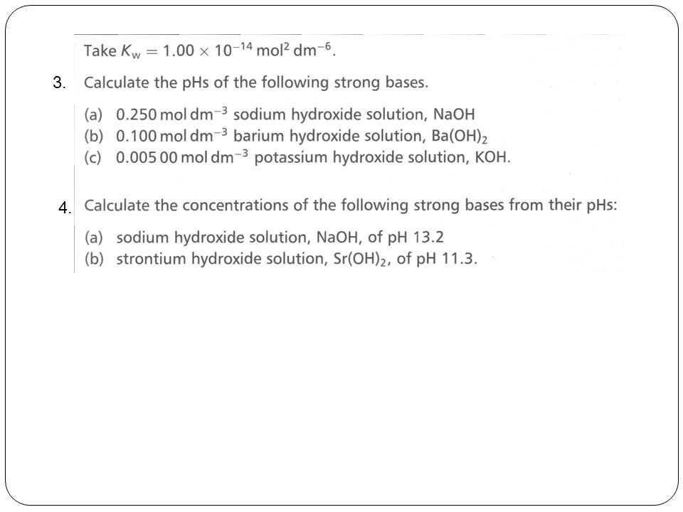 E.g : Will a precipitate of PbCl 2 be formed if 10 cm 3 of 0.10 mol dm -3 Pb(NO 3 ) 2 is mixed with 10 cm 3 of 0.20 mol dm -3 HCl.