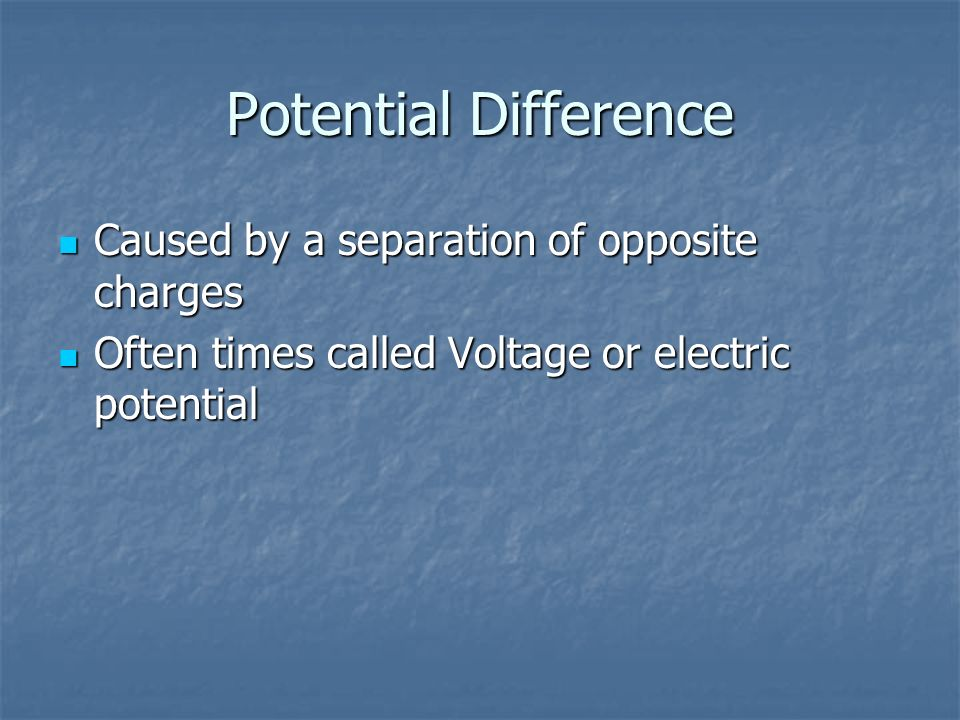 Resistance The opposition to electron flow through a conductor The opposition to electron flow through a conductor Resistance is affected by length, area, type of material, and temperature Resistance is affected by length, area, type of material, and temperature