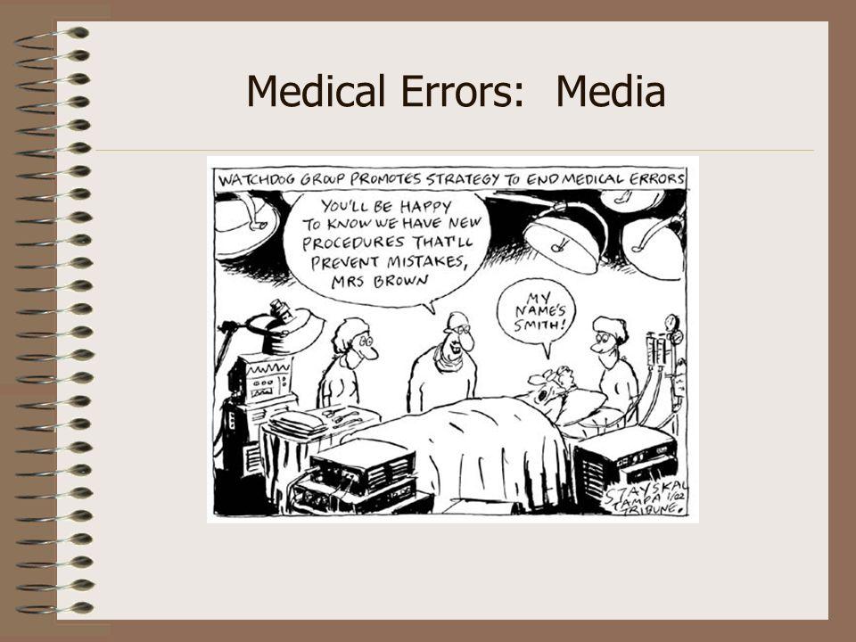 Medical Errors: Media