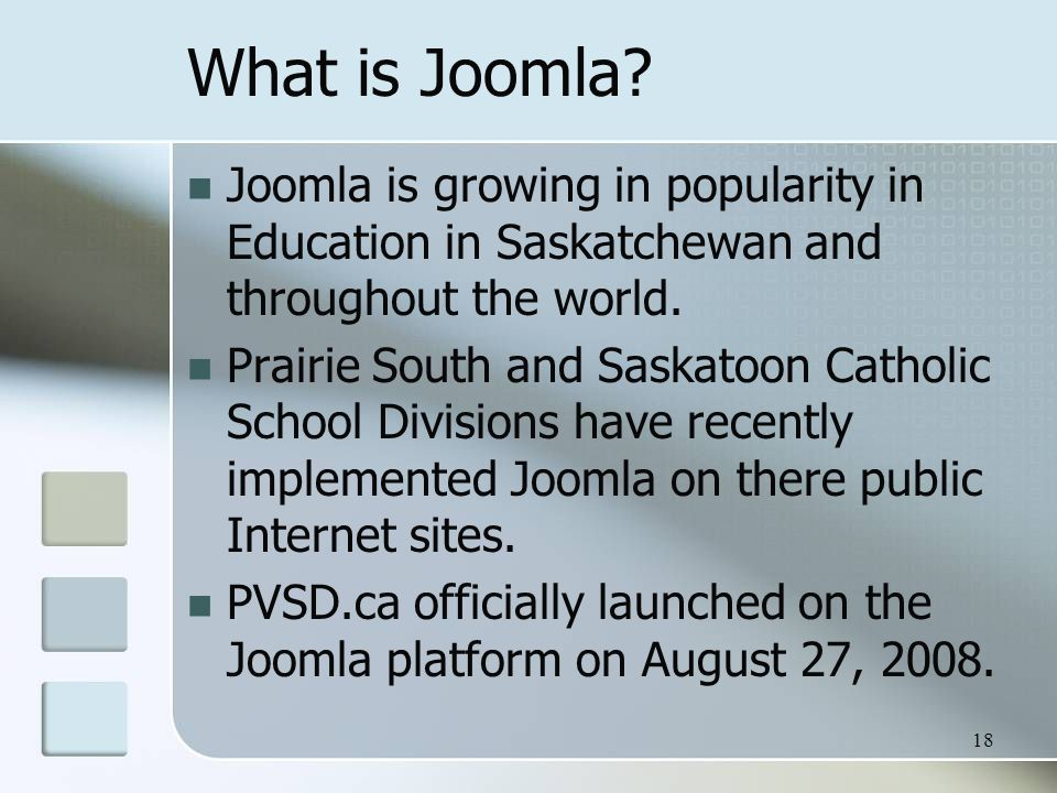 What is Joomla.