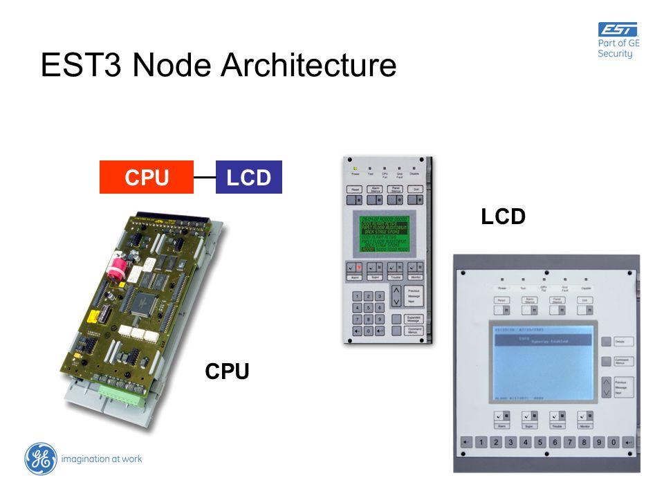 EST3 Node Architecture LCDCPU LCD