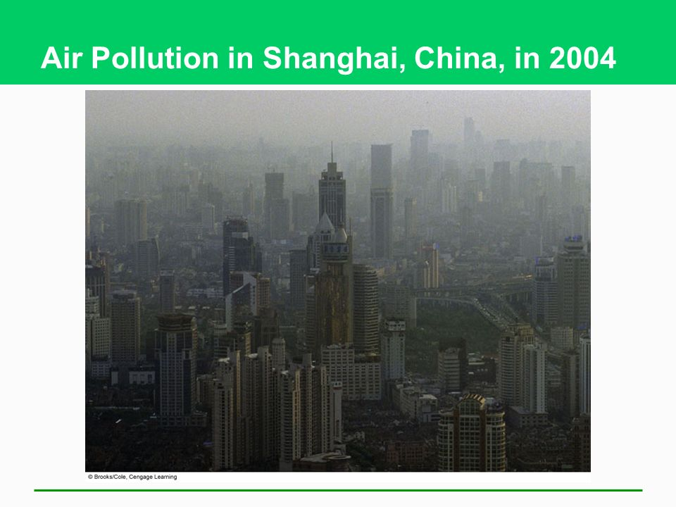 Air Pollution Is a Big Killer 3 Million deaths per year world-wide Mostly in Asia Main causes Heart attacks, respiratory diseases, and lung cancer EPA: proposed stricter emission standards for diesel-powered vehicles Link between international trade and air pollution Cargo ships and pollution