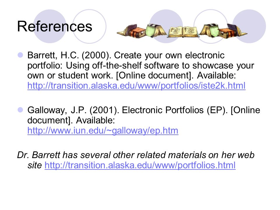 References Barrett, H.C. (2000).