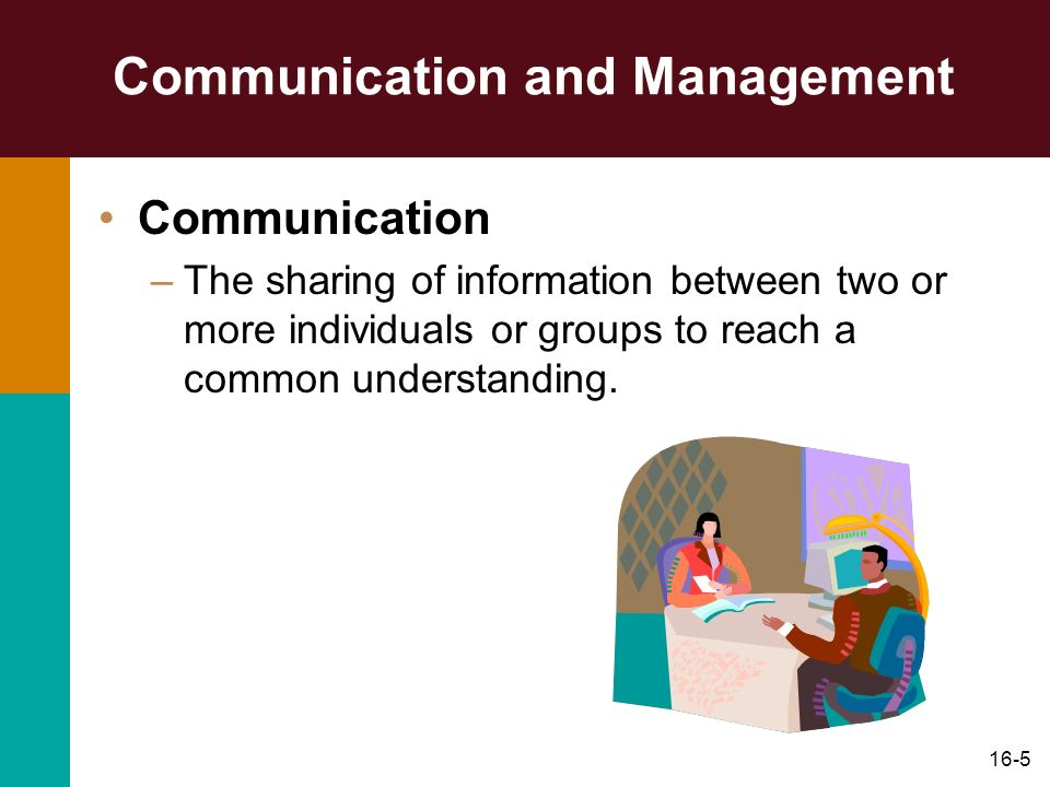 16-46 Discussion Question.What is the most important communication skill for managers.
