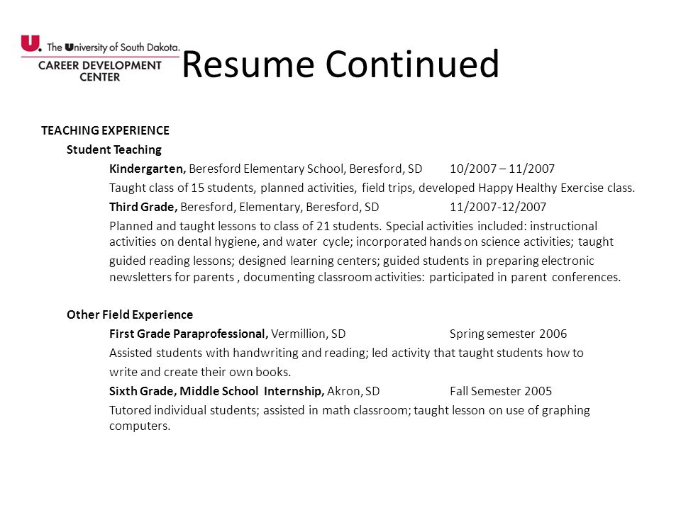 Resume Continued Seventh and Eighth Grade Reading Assessments South Sioux City Middle School, South Sioux City, NE3/1/04 Completed individual informal reading assessments on 5 students using the Slosson Reading Assessments and graded passages.