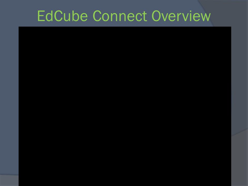 EdCube Connect Overview