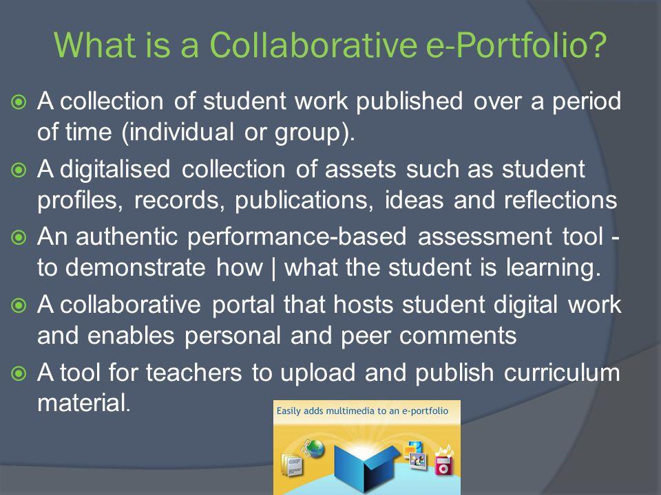 ePortfolio Educational Benefits?