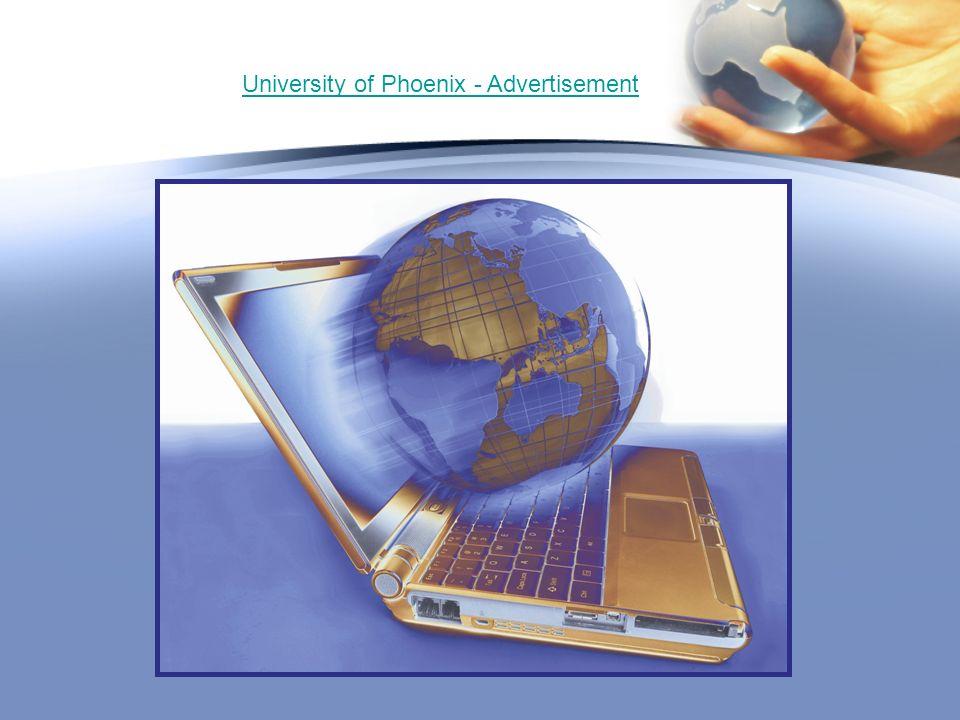 University of Phoenix - Advertisement
