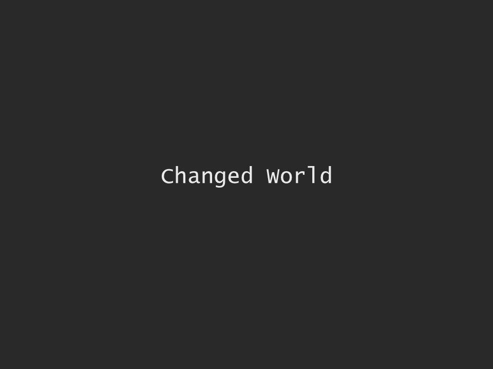 Changed World