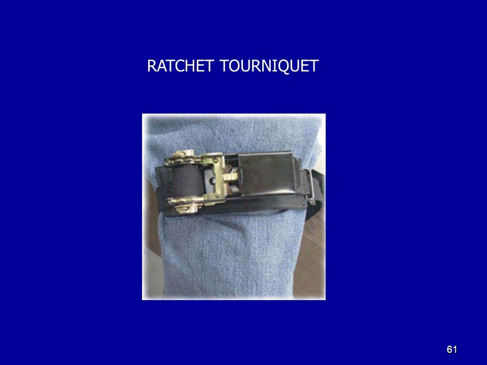 61 RATCHET TOURNIQUET