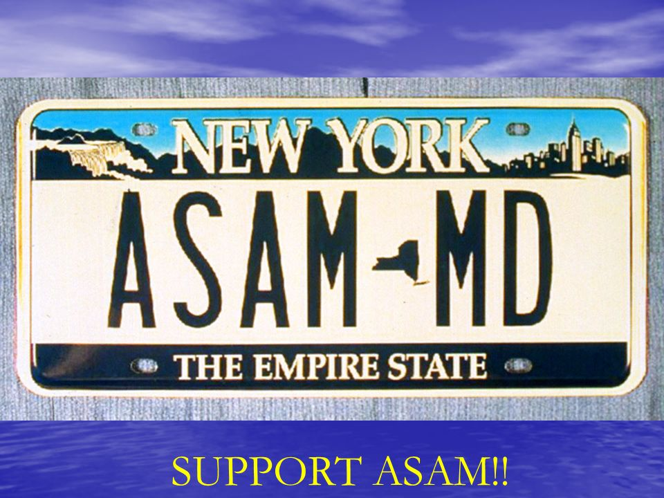 SUPPORT ASAM!!