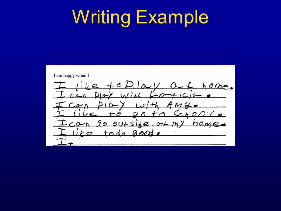 Writing Example