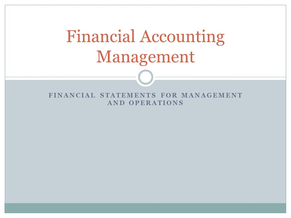 Summary The financial accounting principles in this course are important to understand terminology and build a foundation to understanding financial statements.
