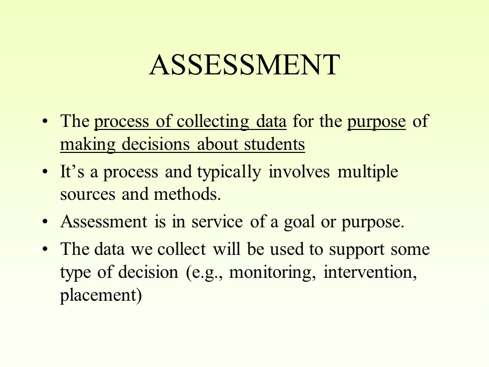 Goals of Workshop Reviewing assessment concepts Reviewing instruments used in norming process Getting an overview of the secondary and elementary normative samples Learning how to use the manuals in interpreting students scores.