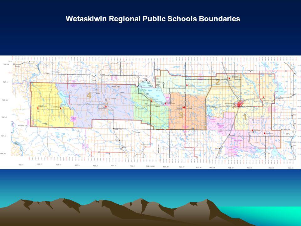 Wetaskiwin Regional Public Schools Boundaries