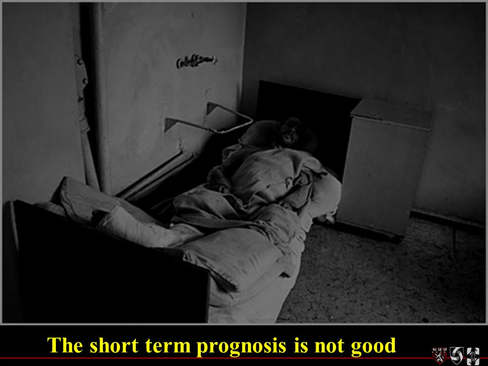 The short term prognosis is not good