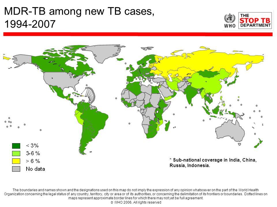 Importance of Transmission in Tomsk Glemanova, et al., Bull WHO, 2007; 85:703-711.