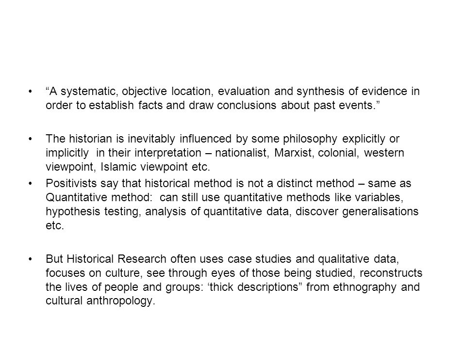 WHY HISTORICAL RESEARCH IN EDUCATION.1.