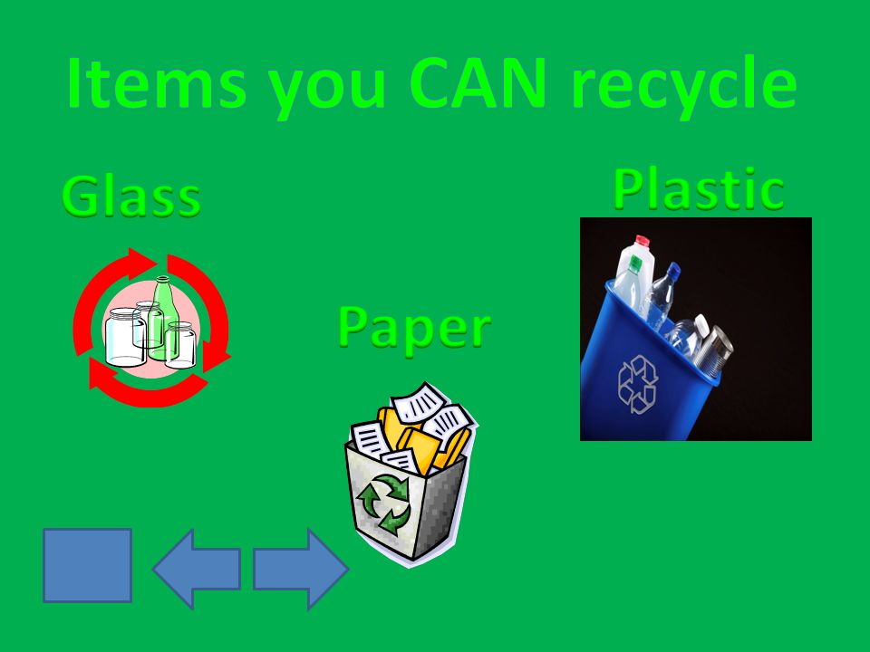 Question 1: Which item can you recycle?