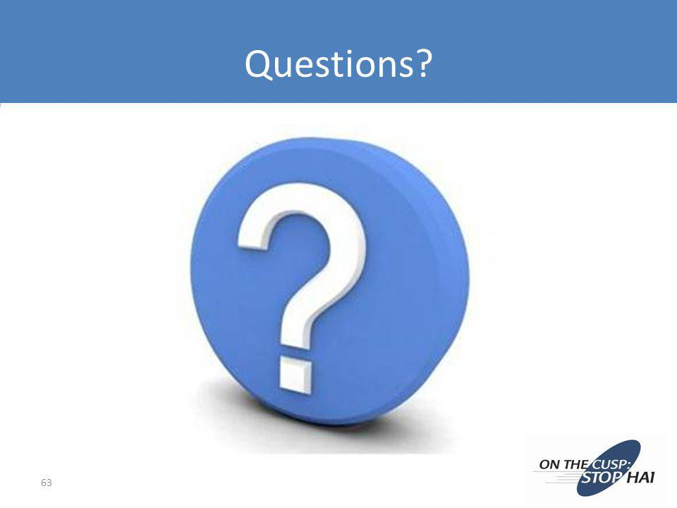 Questions? 63