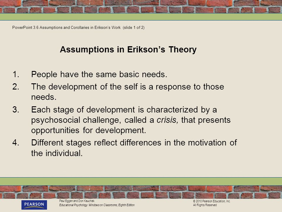 Paul Eggen and Don Kauchak Educational Psychology: Windows on Classrooms, Eighth Edition © 2010 Pearson Education, Inc. All Rights Reserved PowerPoint