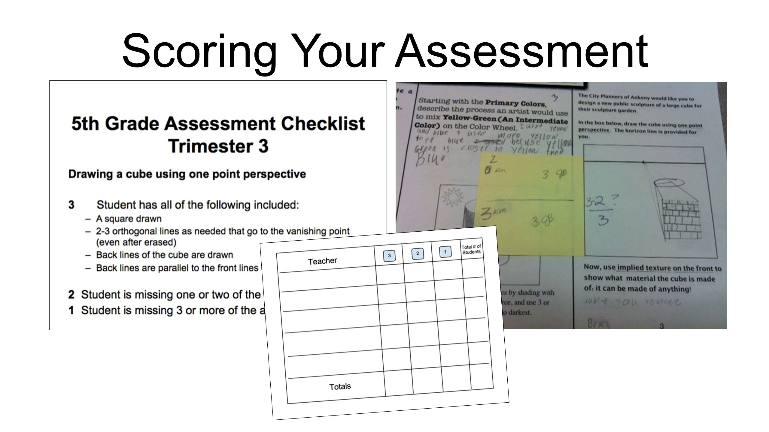 Scoring Your Assessment
