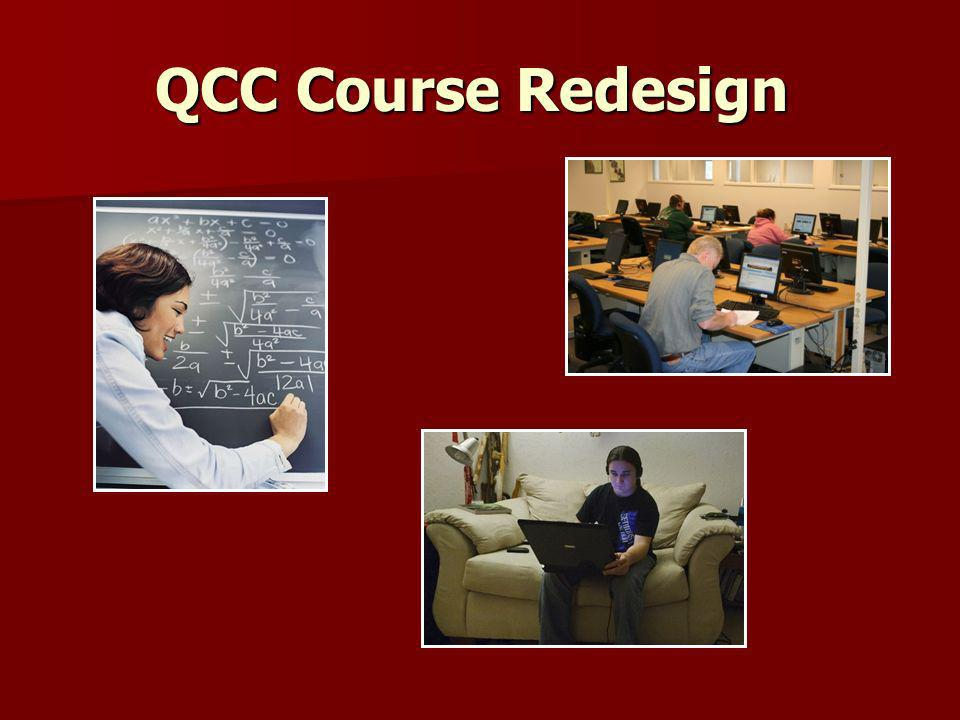 QCC Course Redesign
