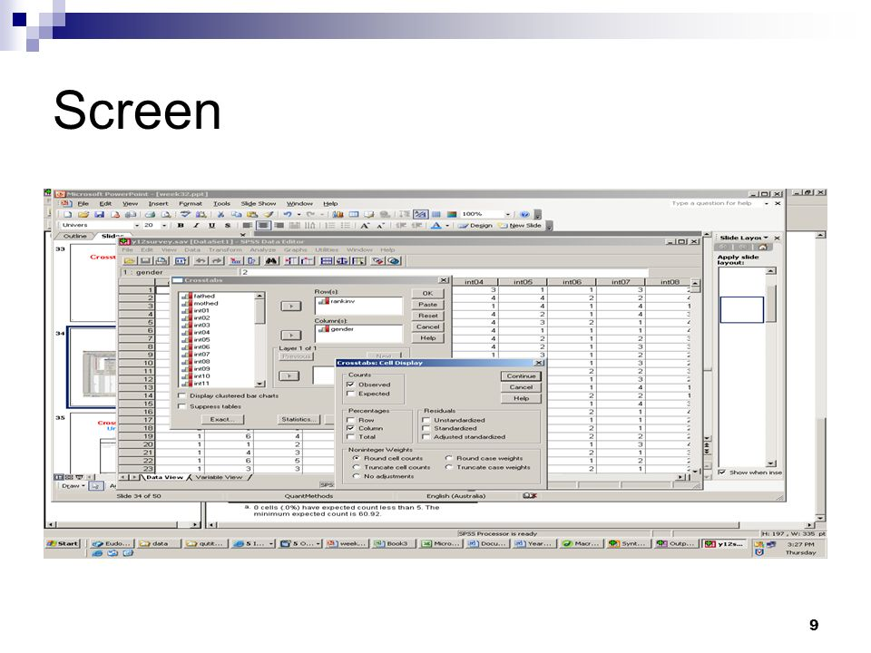 9 Screen