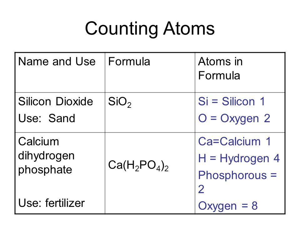 Calcium Phosphate Formula