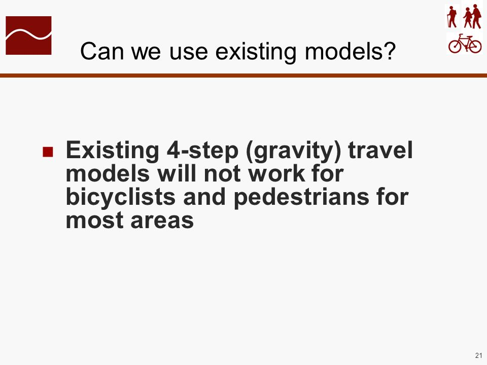 21 Can we use existing models.