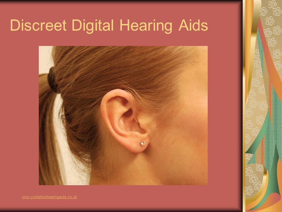 Discreet Digital Hearing Aids www.yorkshirehearingaids.co.uk