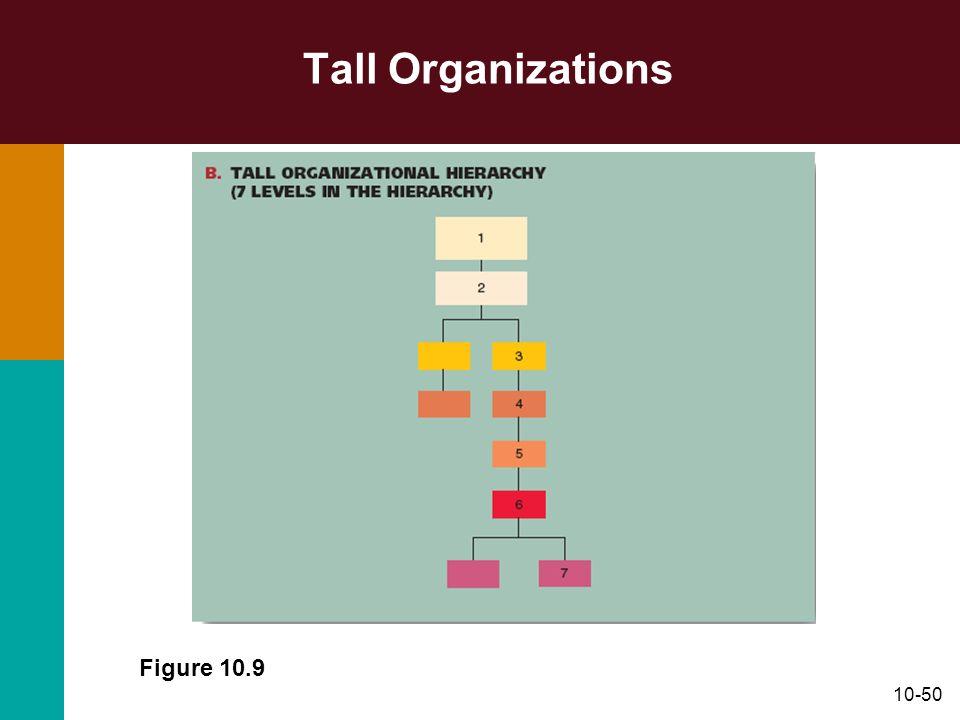 10-50 Tall Organizations Figure 10.9