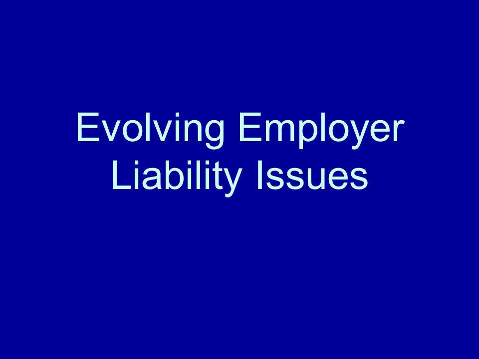 2.Intent to INJURE the employee –New Jersey: Requires more than knowledge and appreciation of the risk Crippen v.