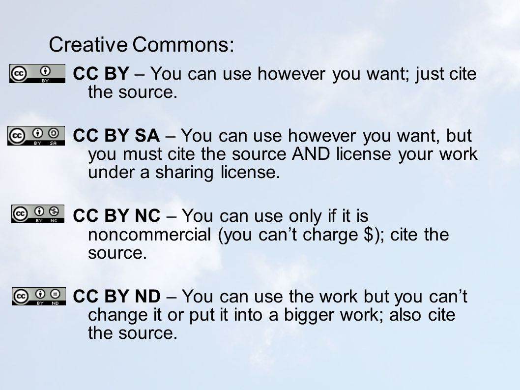 Creative Commons: CC BY – You can use however you want; just cite the source.
