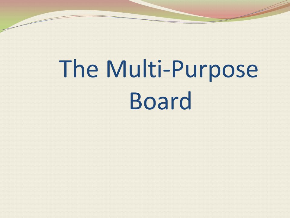 Purpose of Using Bulletin board 1. To approach a unit. The are used as a springboard to a new unit. 2. To develop a unit. This type of display provide