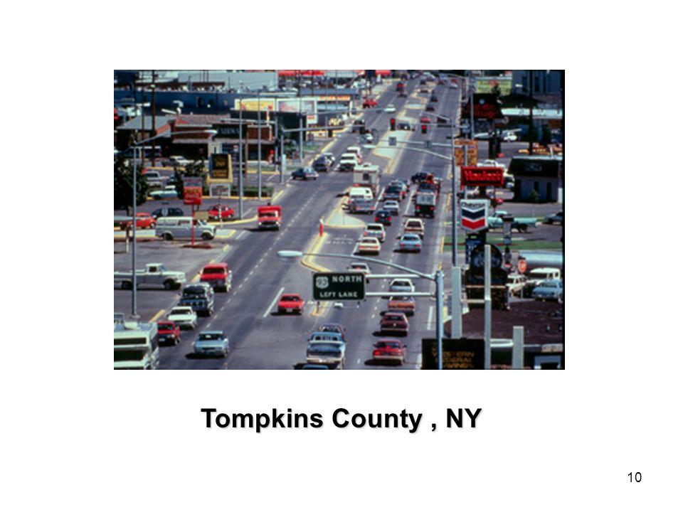 10 Tompkins County, NY