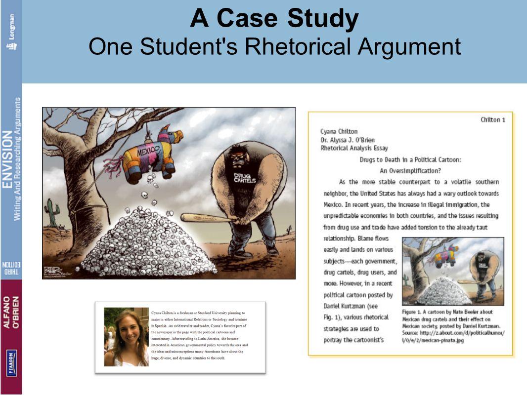 A Case Study One Student's Rhetorical Argument
