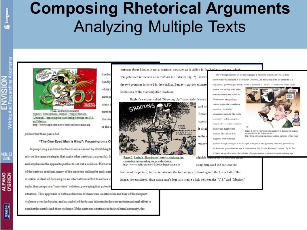 Composing Rhetorical Arguments Analyzing Multiple Texts