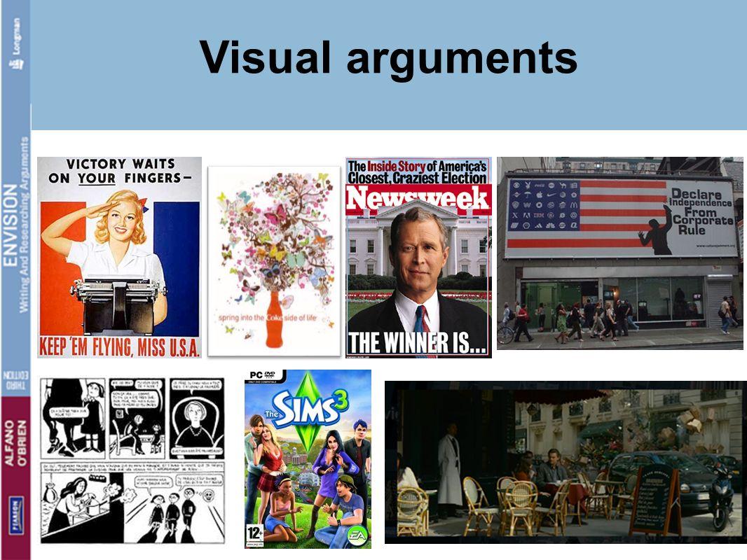 Visual arguments