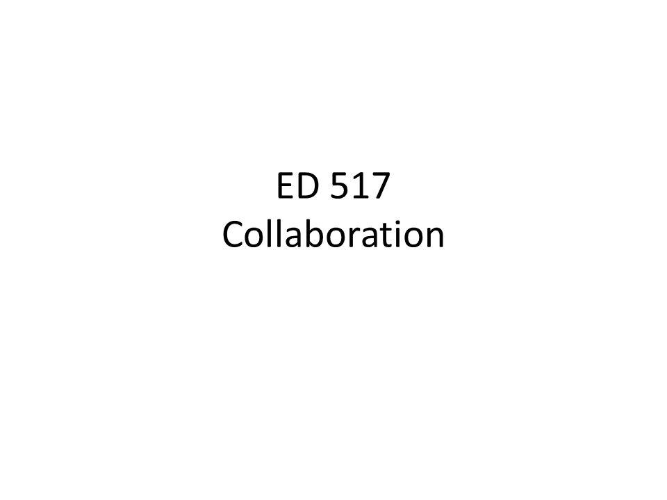 ED 517 Collaboration