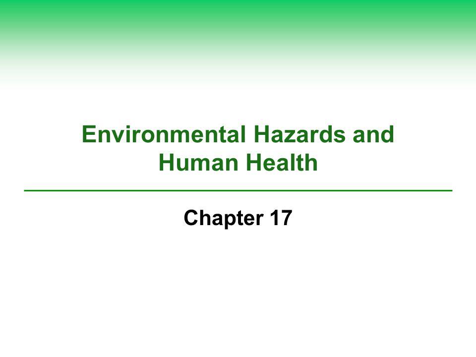 Environmental Hazards and Human Health Chapter 17