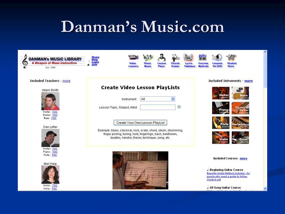 Danmans Music.com