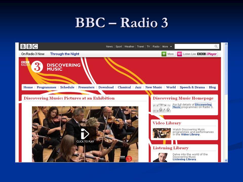 BBC – Radio 3