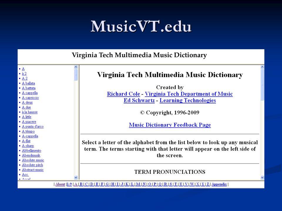 MusicVT.edu