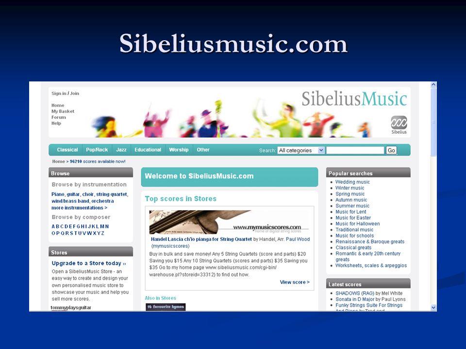Sibeliusmusic.com