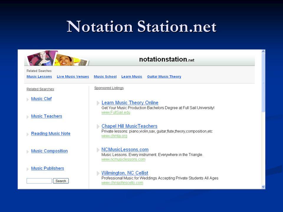 Notation Station.net